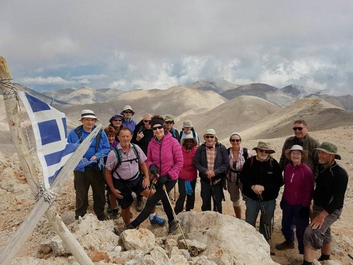 Summit of Mt Pachnes